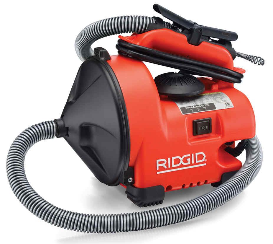 Ridgid里奇通管工具 電動通管機系列